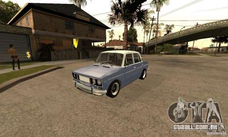 2106 VAZ velho v 2.0 para GTA San Andreas