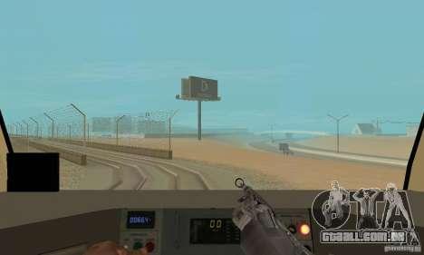 Metro 81-7021 para vista lateral GTA San Andreas