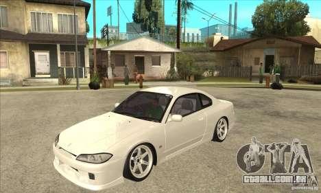 Nissan Silvia S15 Japan Drift para GTA San Andreas