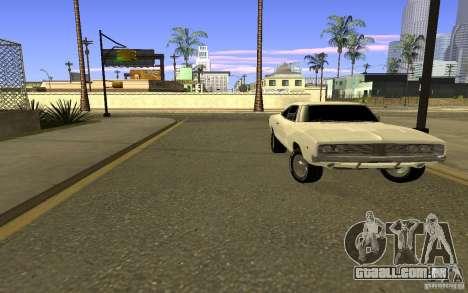 Dodge Charger R/T para GTA San Andreas vista direita