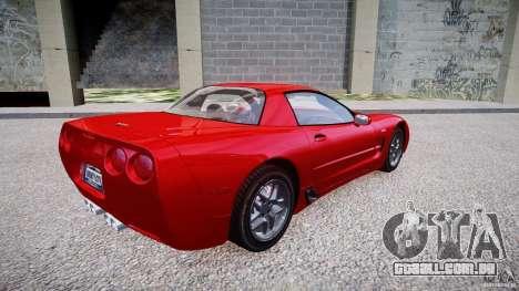 Chevrolet Corvette C5 v.1.0 EPM para GTA 4 vista direita