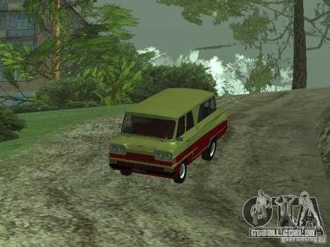 Veículo iniciar v 1.1 para GTA San Andreas traseira esquerda vista