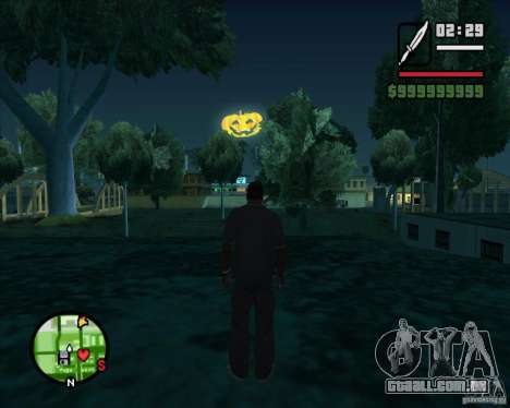 Happy Halloween Mod para GTA San Andreas