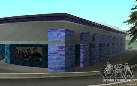 Um novo estádio em San Fierro para GTA San Andreas