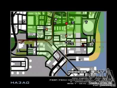 Músicas do filme na guitarra para GTA San Andreas segunda tela