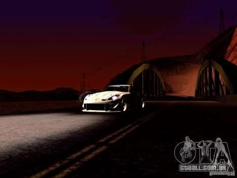 Nissan 350Z Avon Tires para GTA San Andreas vista traseira