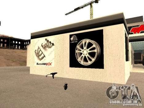 Garagem GRC em SF para GTA San Andreas sexta tela