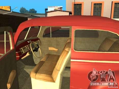 Ford 1940 v8 para GTA San Andreas vista direita