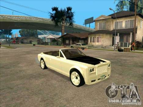 GTA 4 TBOGT Super Drop Diamond para GTA San Andreas esquerda vista