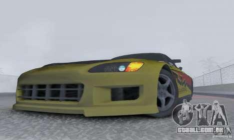 Honda S2000 Tunable para GTA San Andreas vista direita