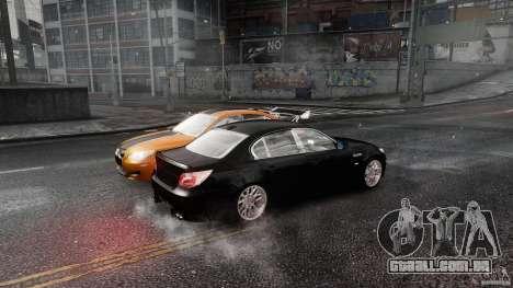 BMW M5 e60 Emre AKIN Edition para GTA 4 vista de volta