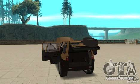 Land Rover Freelander KV6 para GTA San Andreas vista interior