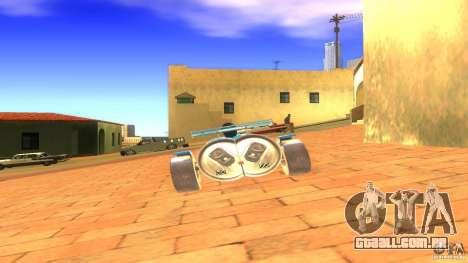 PEPSI car para GTA San Andreas traseira esquerda vista