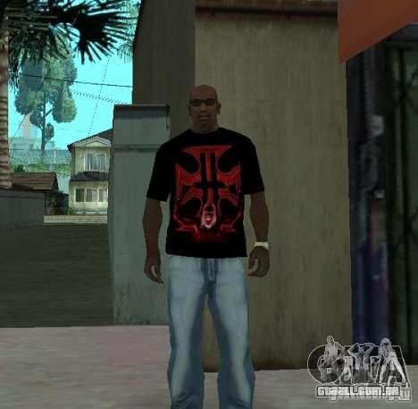 Triple H t-shirt para GTA San Andreas