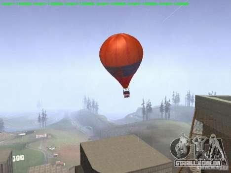 Balão-estilo hippie para GTA San Andreas esquerda vista
