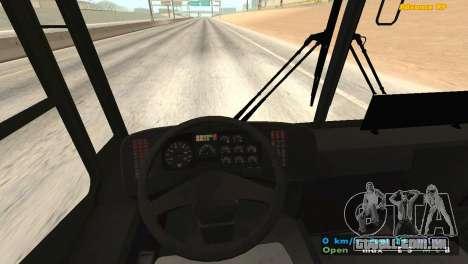 Mercedes-Benz Turk O345 para GTA San Andreas vista traseira
