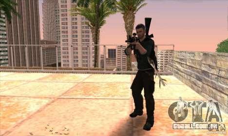 Sam Fisher para GTA San Andreas sexta tela