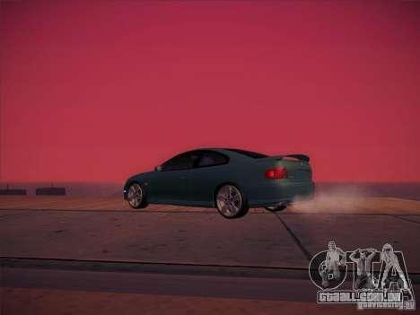 Pontiac FE GTO para vista lateral GTA San Andreas