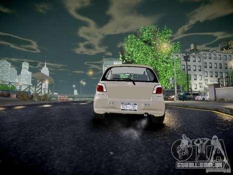 Toyota Vitz para GTA 4 traseira esquerda vista