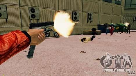 Glock 18 Akimbo (preto/cinza) para GTA 4 por diante tela