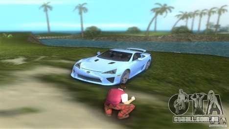 Lexus LFA para GTA Vice City