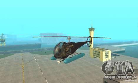 Dragonfly para GTA San Andreas vista interior