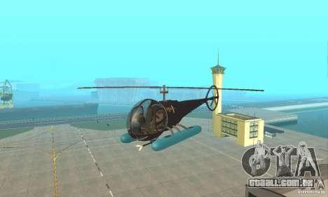 Dragonfly para GTA San Andreas vista interior
