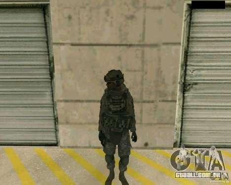 Pele do soldado de CODMW 2 para GTA San Andreas