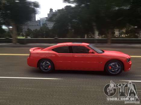 Dodge Charger SRT8 2006 para GTA 4 vista interior