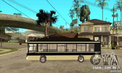 LIAZ 5256 para GTA San Andreas esquerda vista
