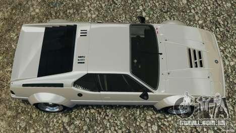 BMW M1 Procar para GTA 4 vista direita