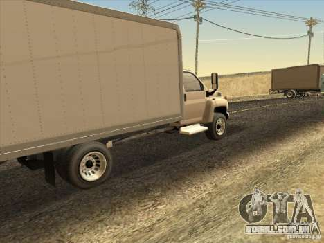 GMC 5500 2001 para GTA San Andreas vista direita