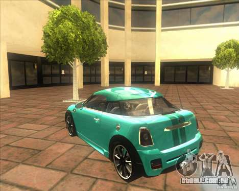 Mini Coupe 2011 Concept para GTA San Andreas vista direita