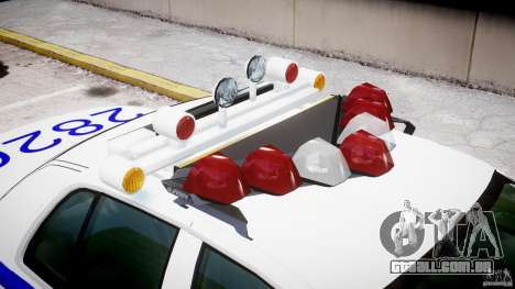 Ford Crown Victoria NYPD para GTA 4 interior
