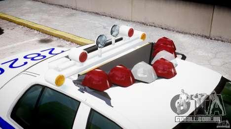 Ford Crown Victoria NYPD para GTA 4 interior