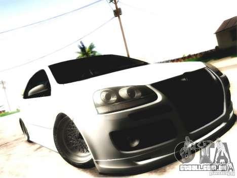 Volkswagen Golf GTI para GTA San Andreas vista direita