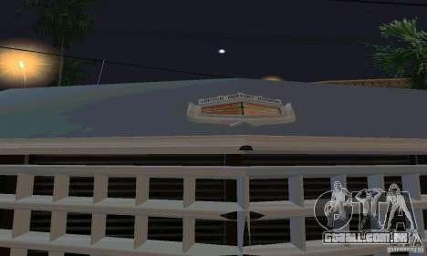 Mercury Monterey 1972 para GTA San Andreas vista direita