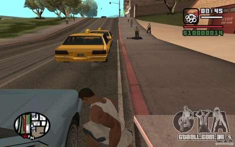 Faca jogando para GTA San Andreas terceira tela