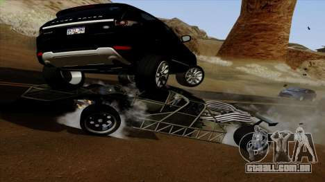 Virar para fora do carro de Furious 6 para GTA San Andreas vista interior