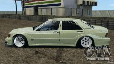 Esporte de Mercedes-Benz 190E 2.3-16 para GTA 4 esquerda vista