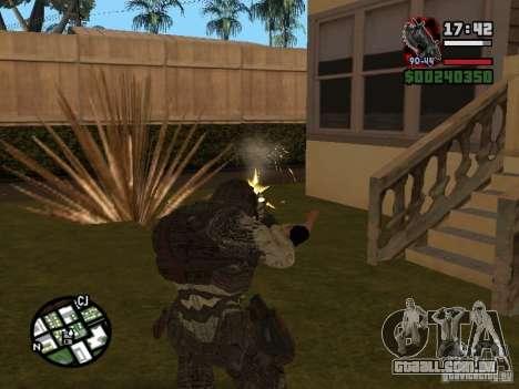 Lokast grunhido de Gears of War 2 para GTA San Andreas terceira tela