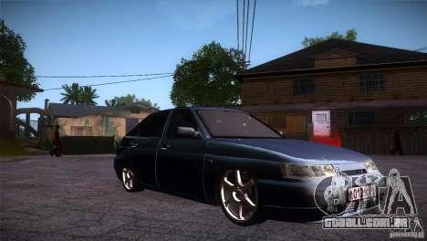 VAZ-2112 LT para GTA San Andreas vista traseira