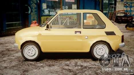 Fiat 126p 1976 para GTA 4 esquerda vista