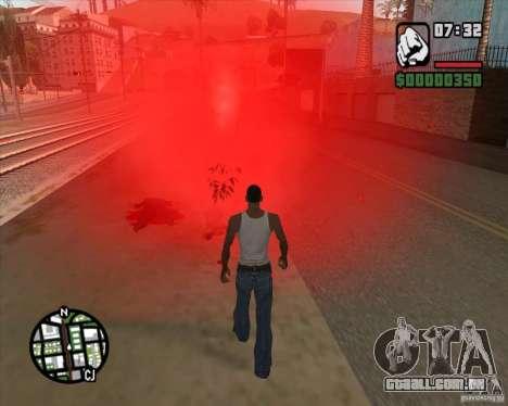 Transeuntes explodindo os miolos para GTA San Andreas