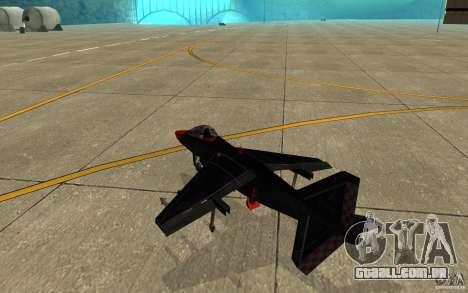 Black Hydra v2.0 para GTA San Andreas vista direita