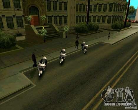 Priparkovanyj transporte v 3,0-de-Final para GTA San Andreas quinto tela