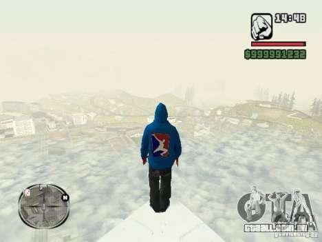 RunMan para GTA San Andreas segunda tela