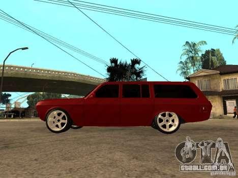 GAZ 24-12 para GTA San Andreas esquerda vista