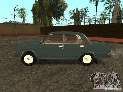 2105 VAZ, v. 2 para GTA San Andreas esquerda vista