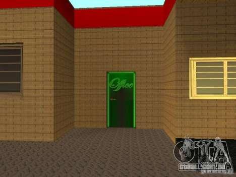 A garagem da Ferrari em Dorothy para GTA San Andreas terceira tela